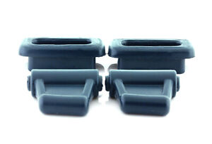 New Blue Sun Visor clips 2 males 2 females W107 R107 380S 450SL 560SL Mercedes