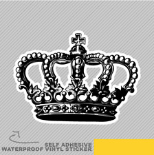 Crown King Queen Inside Joke Vinyl Sticker Decal Window Car Van Bike 2313