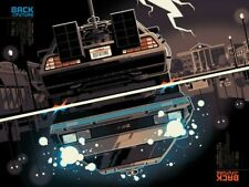 Mondo Poster - Back to the Future - Whalen By Tom Whalen