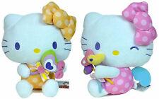 """HELLO KITTY - 2x Lollipop Angels 12"""" Plush Sanrio Smiles EIKOH 2012 Japan RARE"""