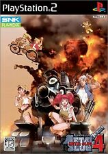 USED Metal Slug 4 Japan Import PS2