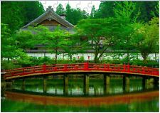 Japanes Landscape A4 JIGSAW Puzzle Birthday Christmas Gift (Can Be Personalised)