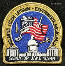 LMH PATCH Badge  NASA SPACE SHUTTLE Mission STS 51-D DISCOVERY Jake Garn Senator
