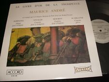 MAURICE ANDRÉ<>LIVRE D'OR TROMPETTE<>Lp Vinyl~France Pressing~ACCORD RC 769