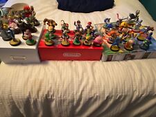 Amiibo lot of 36 (mixed series). Great Condition!