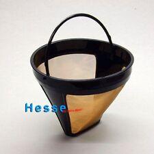 Kaffee-Dauerfilter gold/schwarz Gr. 1x4 FILTRO PERMANENTE d= 12cm, h= 10cm