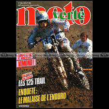 MOTO VERTE N°136-b FANTIC 301 PEUGEOT 125 XLC LIGIER DAKAR YAMAHA DTLC ATC 1985