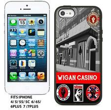 NORTHERN SOUL WIGAN CASINO   RETRO  GEL TPU IPHONE CASE COVER