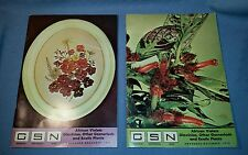 Gesneriad Saintpaulia News; African Violets Magazine; Nov-Dec 75 and Nov-Dec 76