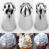 746|douilles décoration gâteau-3 pièces-douille pour pâtisserie-cuisine-gateau