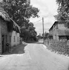 B/W 6x6 Negative Oakley Hampshire Village Scene 1952 + Copyright Z61