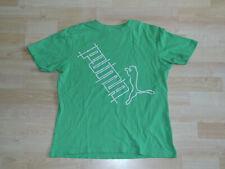 Puma: Mädchen grünes T-Shirt Sportshirt Gr. 164 mit Aufdruck
