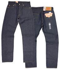 Levis 501 retráctil para caber Cierre De Botones Jeans Muchos Colores Muchos Tallas Denim Rígido