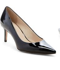 Enzo Angiolini Womens Black Patent Ranci Pump Heels Sz 9.5 NEW