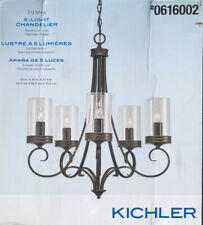 BRAND NEW Kichler Diana 5-Light Olde Bronze French Country/Cottage Chandelier