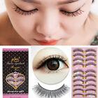10 Pairs Long Thick Cross Beauty False Eyelashes Make UpEye Lashes Extension UE