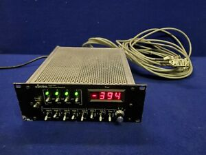 MKS Type 247D 4 Channel Readout Power Supply 247