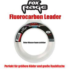 0,24€//m Savage Gear 100/% Fluoro Carbon 50m 0,30mm//6,0kg Fluocarbon Fluo