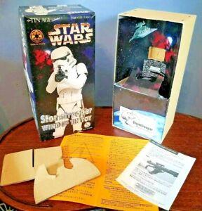 EMPTY BOX for Stormtrooper Star Wars Windup TIN TOY Osaka Tin Toy Robot Japan