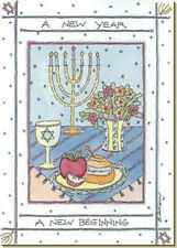 A New Beginning - Package of 8 Rosh Hashanah Cards by Recycled Paper Greetings