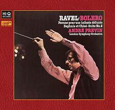 LONDON SYMPHONY ORCHESTRA/PREVIN - Ravel/Bolero/Daphnis et Chloe. New XRCD