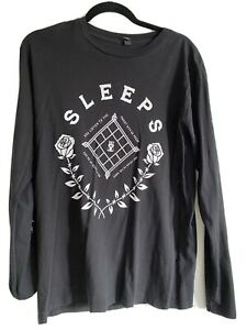 While She Sleeps Long Sleeve T Shirt (M)