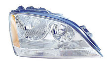 Headlight Assembly Right/Passenger Side Fits 2005-2006 Kia Sorento EX/LX Chrome