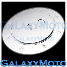 07-13 Chevy Suburban+Tahoe+Avalanche Triple Chrome ABS Fuel Gas Cap Door Cover
