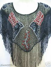 Sequin Wrap Shawl - WESTERN # 2010 - One Size  (NEW)