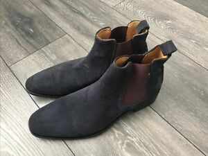 Russell And  and bromley Jean Paul Navy Chelsea Boots Size 7 New