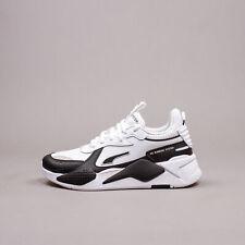 Puma RS X_ White Black Lifestyle Classic Running Shoes new Men Rare 374486-02