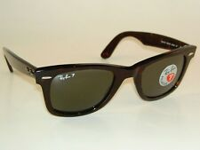 New RAY BAN  Sunglasses Wayfarer Tortoise Frame RB 2140 902/58  Polarized Lenses