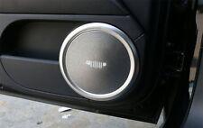 4pcs Aluminum Inner Door speaker frame Cover For Jeep Compass Patriot 2011-2016