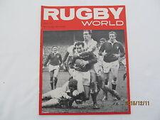 Rugby Union World Magazine March 1965.