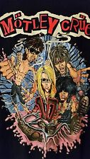 Motley Crue 10 (Decade) 1991 vintage licensed concert tour shirt Large