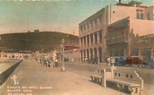 Aspecto Del Hotel Belmar #2 Autos 1940s Mazatlan Mexico RPPC Photo Postcard 7368