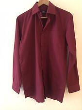 Burgundy Shirt 14.5 George, <RC333