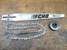 original ECHO Carving Set Schnitzen CS-280 CS-281 CS-270 Schiene Kette Kupplung