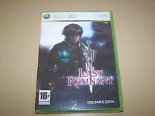 The Last Remnant Xbox 360 **New & Sealed**