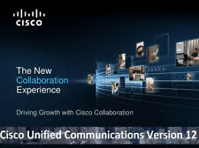 Cisco Collaboration Voice Lab CCNA CCNP CCIE VMWare Images CUCM CUC CUPS v12