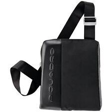Piquadro PQ7 Black Tote bag, shoulder pouch, w/ phone pocket CA1440PQ/N