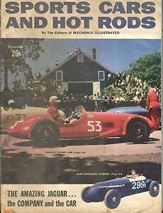 Sports Cars And Hot Rods December 1953 Jaguar GD 042817nonjhe