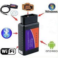 OBD2 ELM327 V1.5 OBD2 Car WIFI Interface Diagnostic Tool Scanner For Android 66g