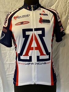 Hincapie Cycling Jersey UNIVERSITY OF ARIZONA UofA Wildcats Adult X-Small