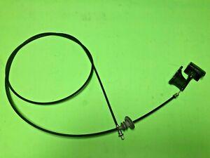 Datsun Nissan Stanza T12 1986-2011 Hood Cable w. handle 65620-13E00 Genuine NOS