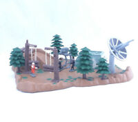 Star Wars Mini Figure Playset Endor Micro Machines Forest Toys