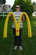 Rare Authentic MCDONALD'S Golden Arch Light Up Advertising Sign