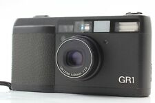 【Excellent+++++ LCD Works】RICOH  GR1 Black 35㎜ Film 28mm f/2.8 Lens from JAPAN