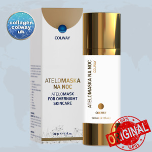 AteloMask COLWAY– Face care mask/cream 120 ml Natural Collagen, Anti-ageing