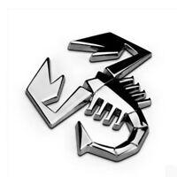 Silber LKW Auto-Dekor Skorpion Auto Aufkleber 3D-Metall Abzeichen Emblem
